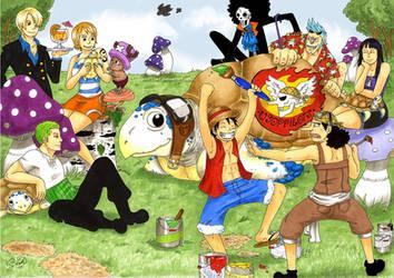 One Piece: Tortoise days