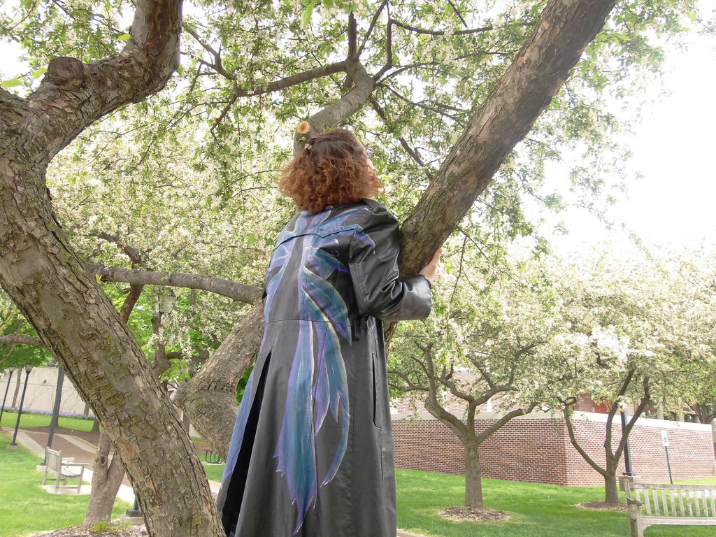 Fairy wing coat by TheMagicianAssistant