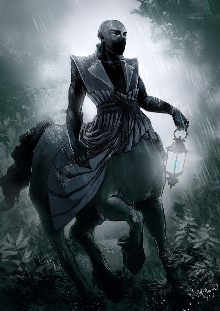 centaur by Amorelia