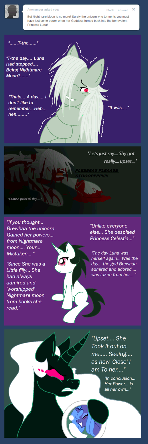 Memories Of an Empty Life: Nightmare Moon by cdla