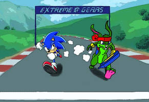 Jazz versus Sonic. by Spyboythespeedster