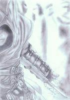 Assasin's Creed Altair sketch by Spyboythespeedster