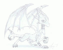 Cynder the Dragoness by Spyboythespeedster