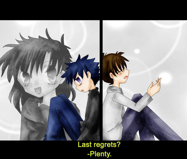 'Last Regrets?' -Shinichi by FishHeadThe3rdAndCo