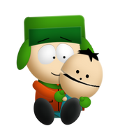 Broflovski Brothers by RaguTheNinja