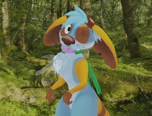Phoebe the wallaby - VRChat avatar