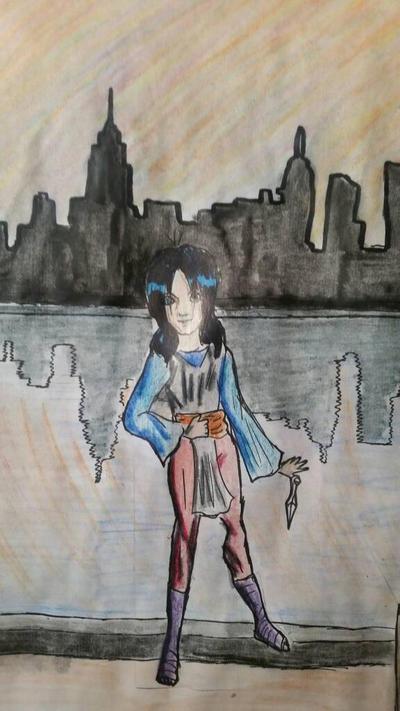 small ninja of new york by Dark-Lina