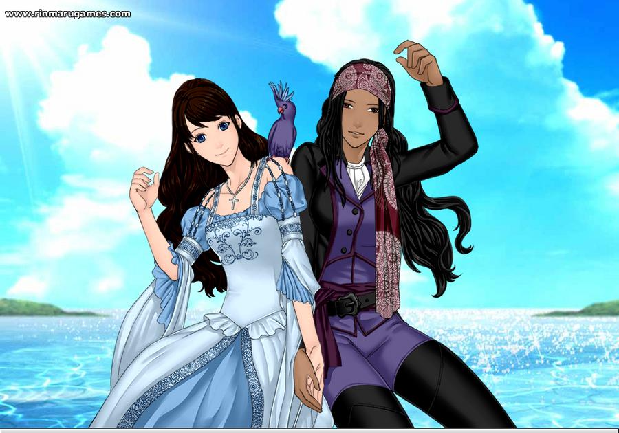 Ophelia and Marine by Dark-Lina