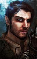 Baldurs Gate- Character Portrait. by Sirick-J-Griffardo