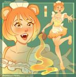 [CLOSED] Adopt Auction - Bear Maid