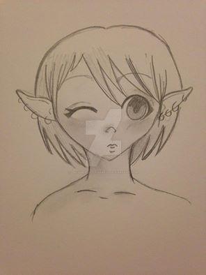 Elf Girlie by Dreamer-of-darkness