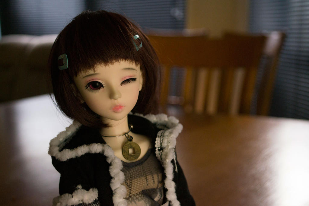 Miki's Afternoon (BJD) by Dreamer-of-darkness