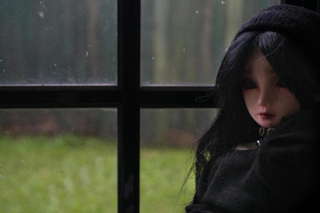 Rainy Day Luna (BJD) by Dreamer-of-darkness