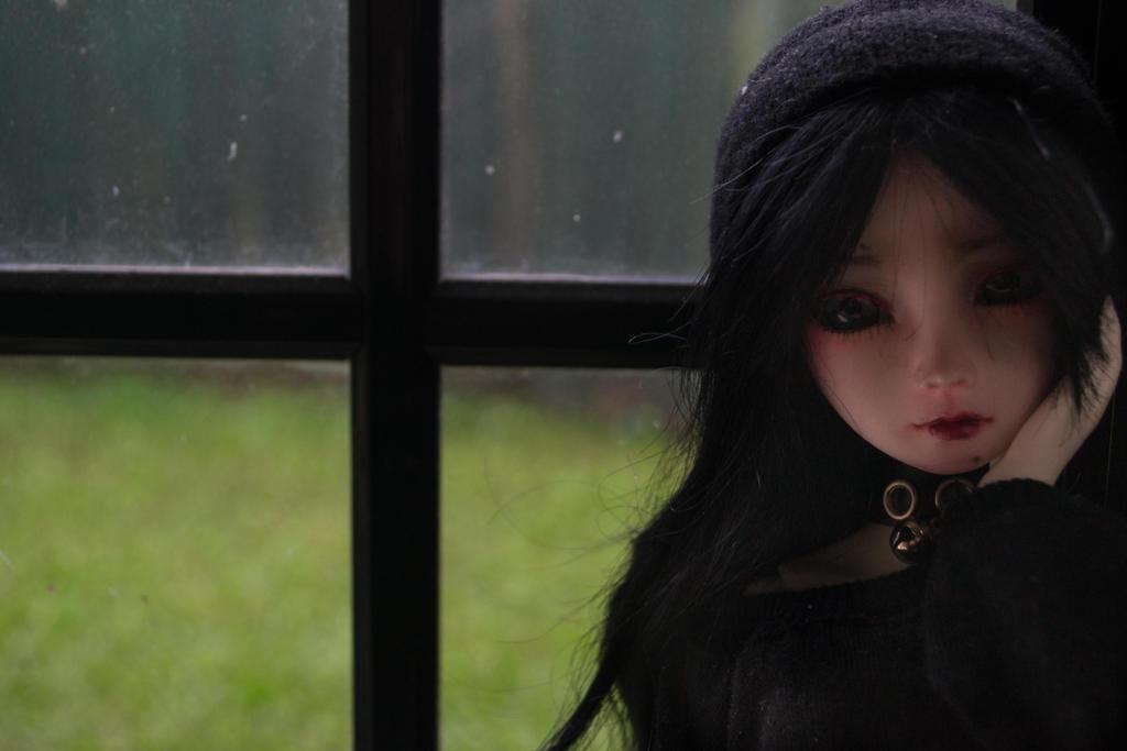 Little Resin Girl (BJD) by Dreamer-of-darkness