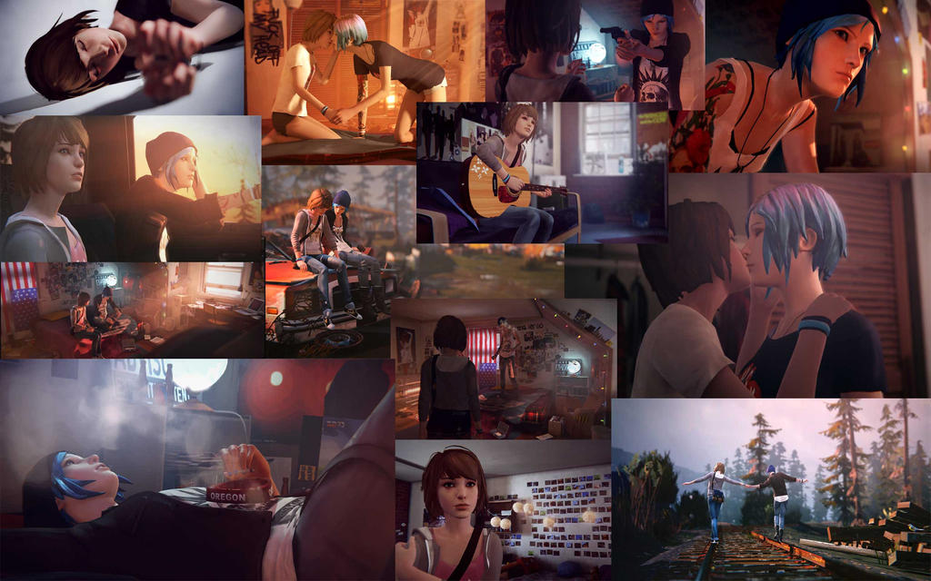 Life is Strange - Collage Wallpaper by Dreamer-of-darkness