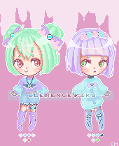 |SALE| Adopts Pastel goth - SET PRICES by ClemenceMiku