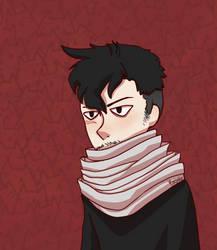 Shiro-Haired Aizawa by Kroscythe