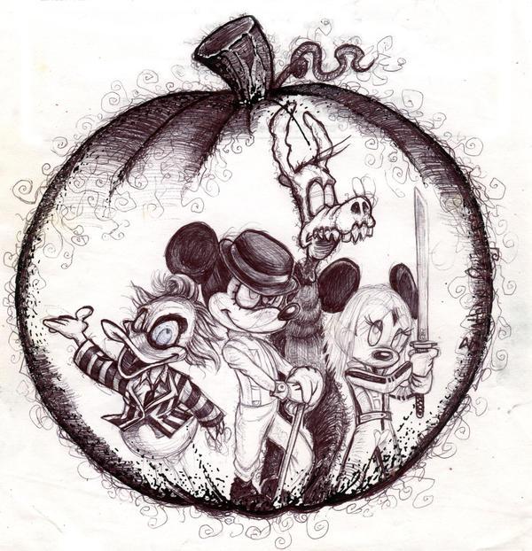 Disney Halloween by TheMadRoman on DeviantArt