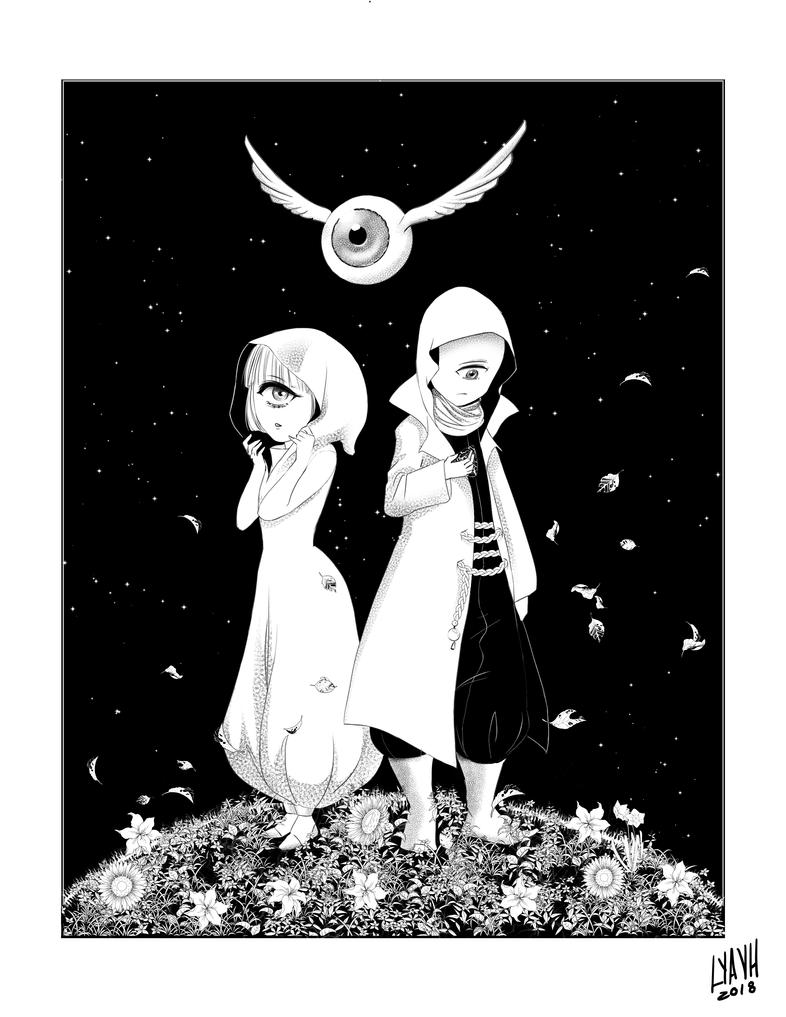Zam y Zara by SilverInkedOwl
