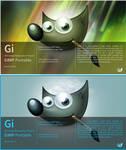 Photoshop like Splashcreen for GIMP Portable