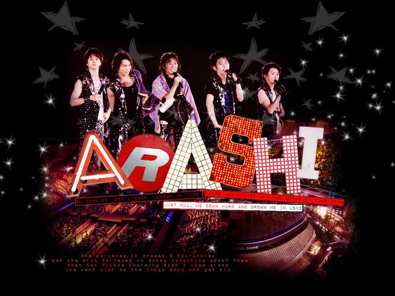 ARASHI in Tokyo Dome by elitejean