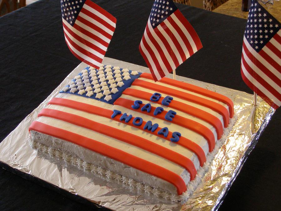 Cake Art Usa : USA Cake by darcyscakes on DeviantArt
