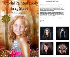 Painted Look Tutorial by ED-Creations