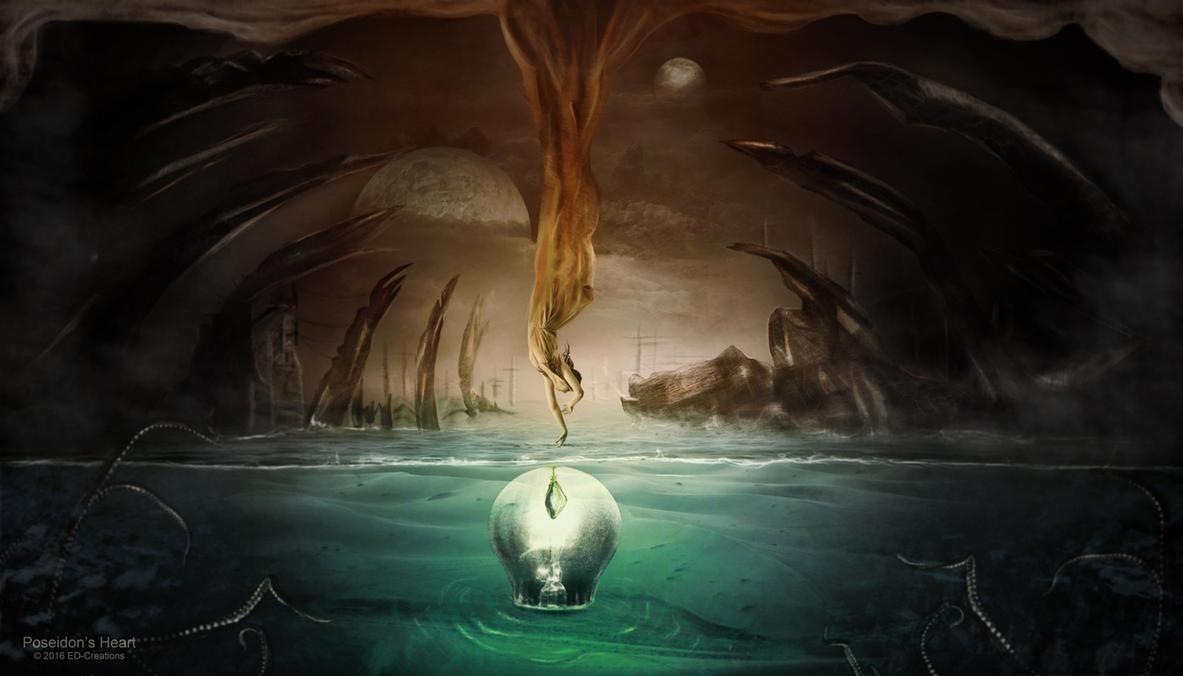 Poseidon's Heart by ED-Creations