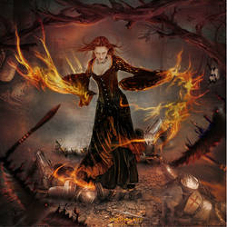 Witches Fire by ED-Creations