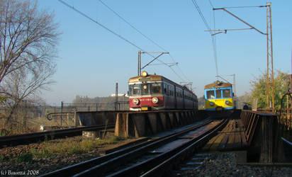 Two trains by Bawetta