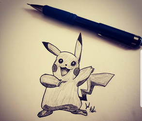 PIKACHU by Feast4daBeast