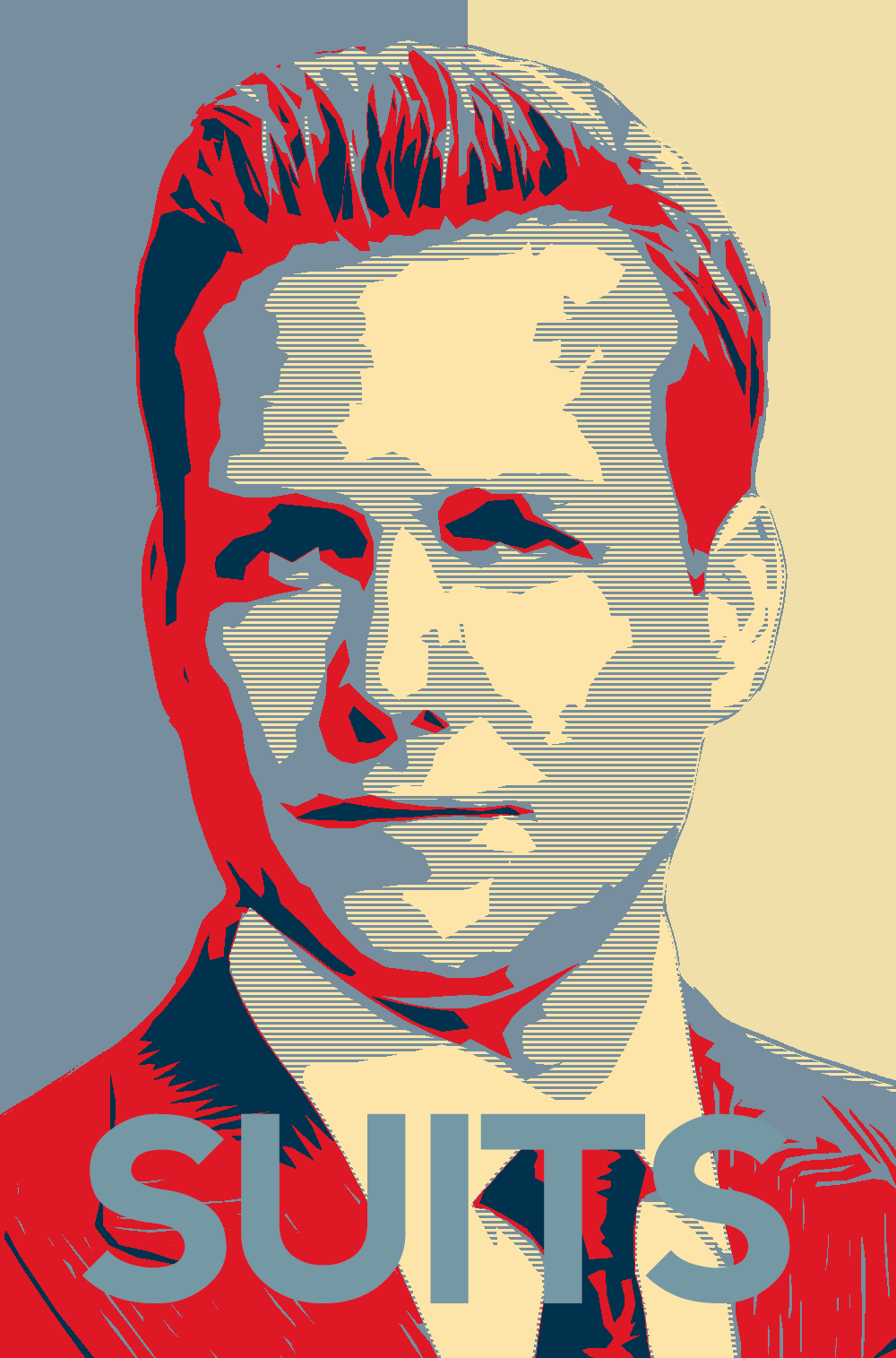 Harvey specter obama poster by iamsolazy3 on deviantart for Harvey s paint and body