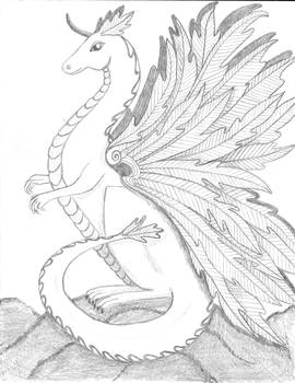 FeatherDragon sketch