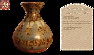 Blue Rustic Vase
