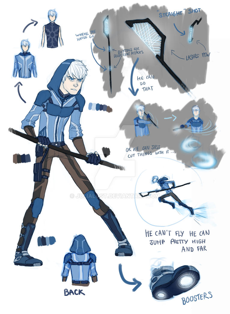 Jack Frost SF AU by JuliaLost