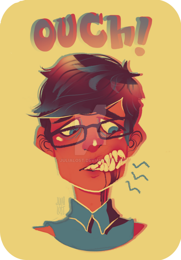 Toothache by JuliaLost