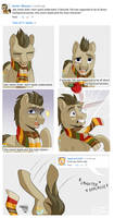Dr. Whooves Starting Brawls in the Comments..