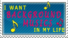 background music stamp by Wicart