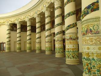 Pillars by Ksenia-Biryuzov