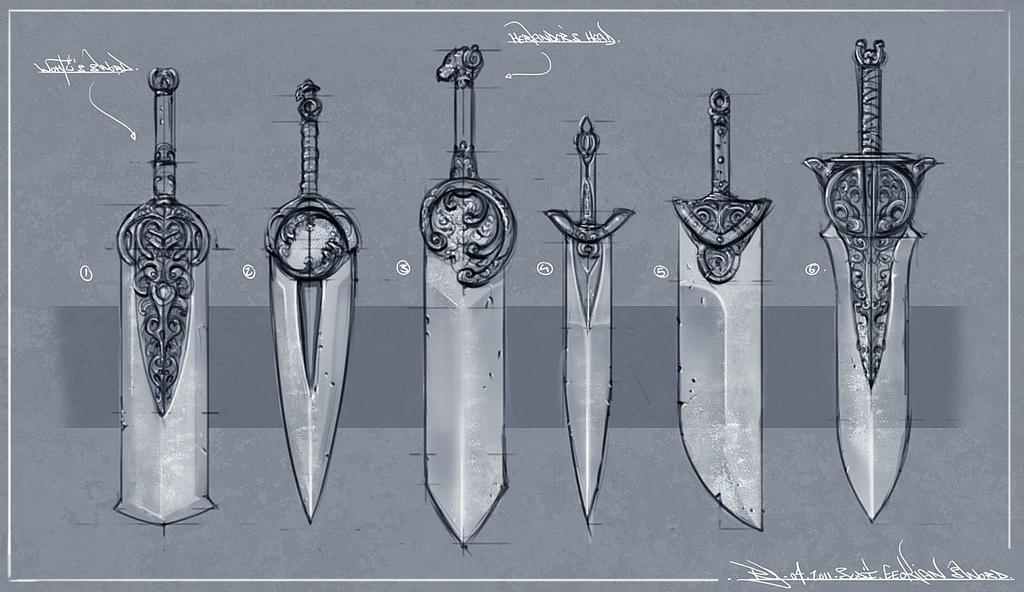 Blade Design 1 by Ranoartwork