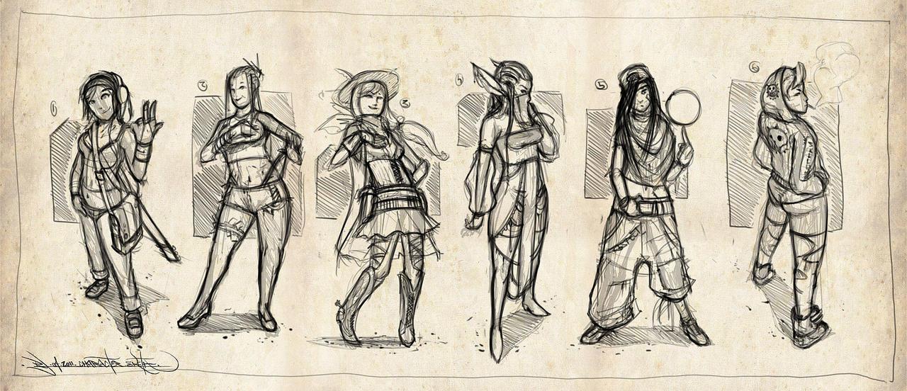 deviantart character sketches - photo #15