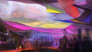 Deep market by Ranoartwork