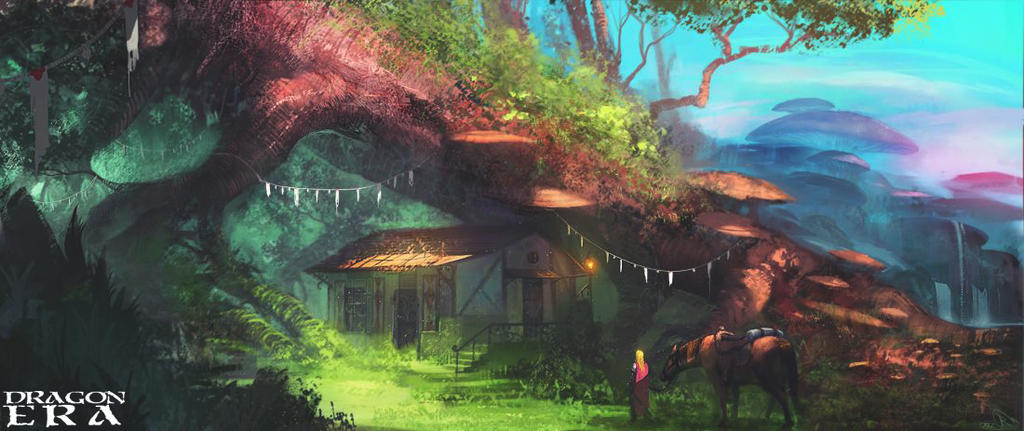 Lost Garden by Ranoartwork