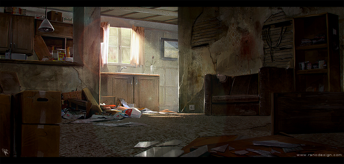 Living room by Ranoartwork