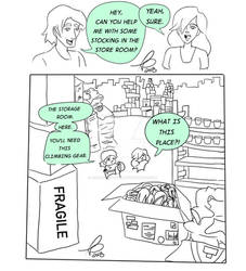Stock Room Comic