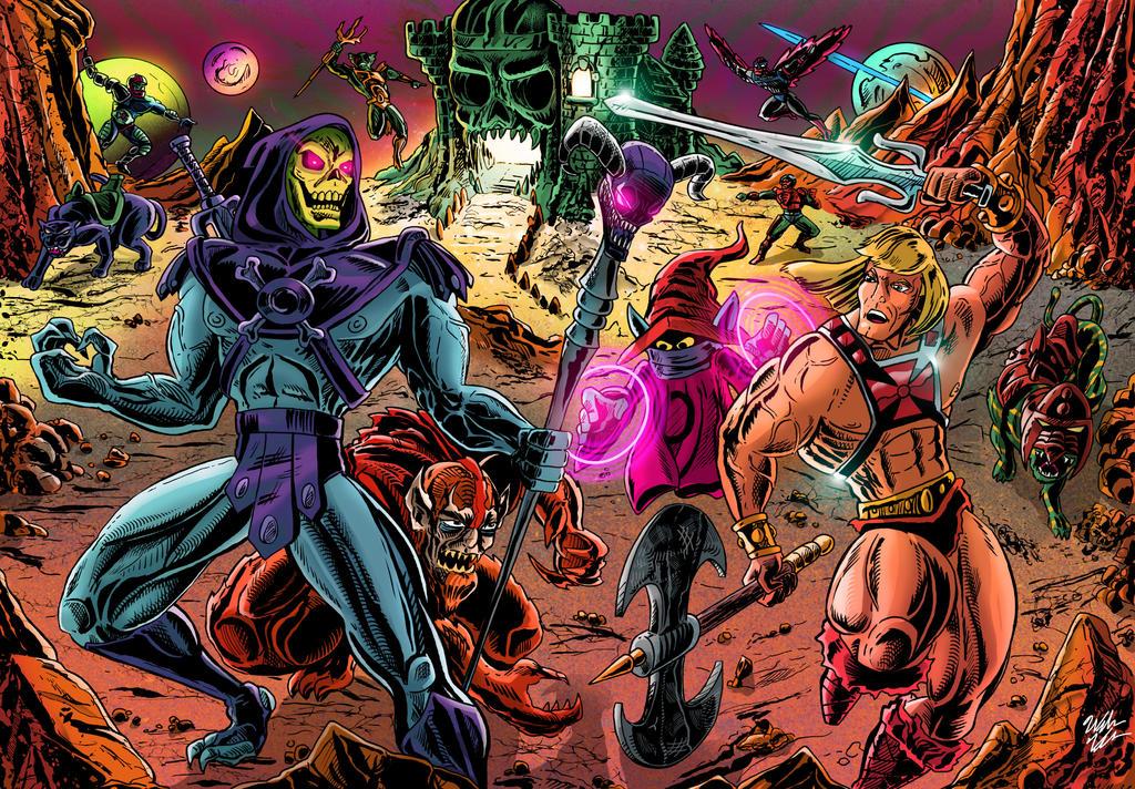 He-Man vs Skeletor by WV-Films on DeviantArt