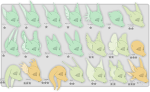 [TRAITS]: Monstuni Ear Types by C0ZR10N