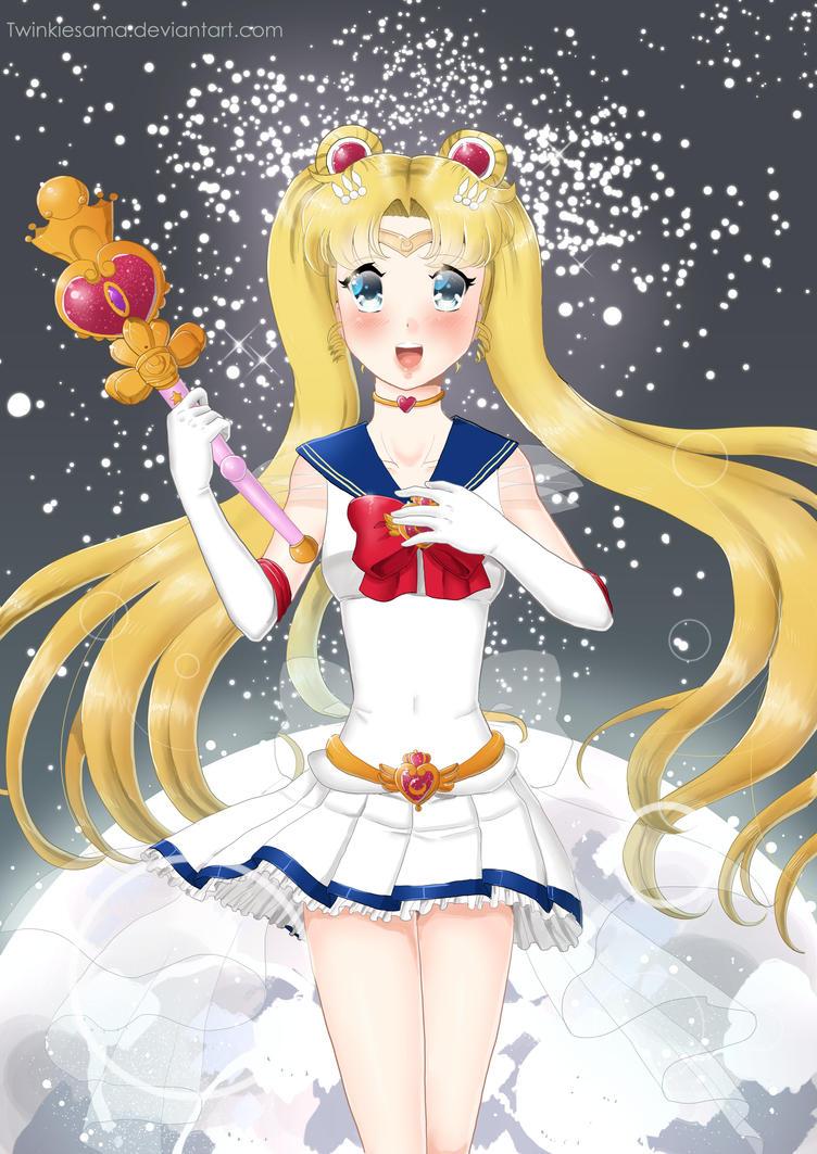 Sailor Moon by Twinkiesama