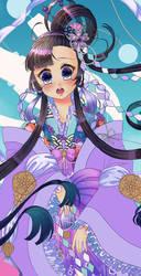 Sky Princess WIP by Twinkiesama