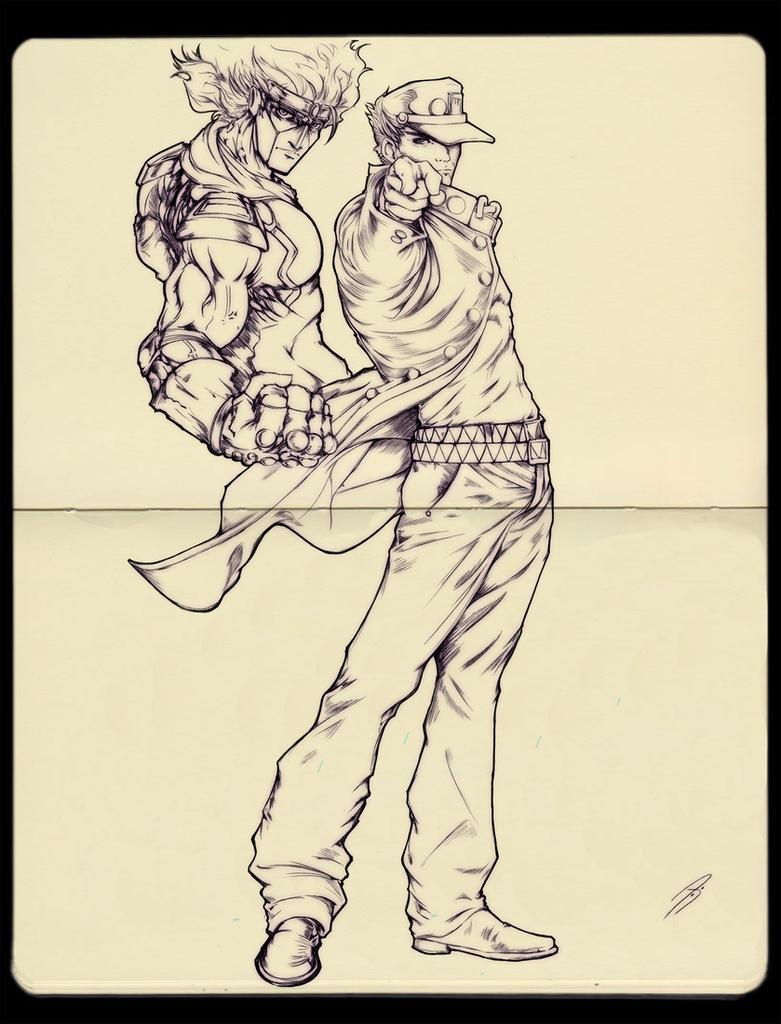Jotaro by KofJP